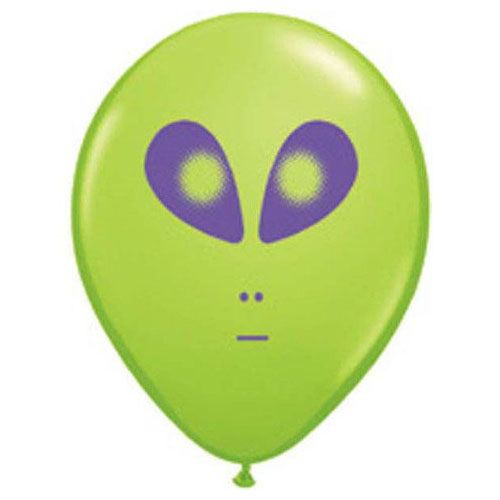 5″ SPACE ALIEN - LIME GREEN