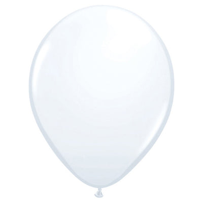 11″ QUALATEX WHITE