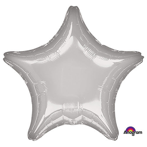 19″ STAR - METALLIC SILVER