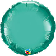 18″ CIRCLE - CHROME GREEN