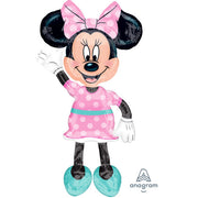 54″ MINNIE MOUSE AIRWALKERS - PINK DRESS