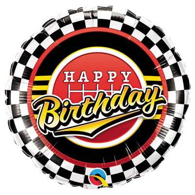 18″ BIRTHDAY CHECKERED PATTERN