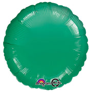 18″ CIRCLE - METALLIC GREEN