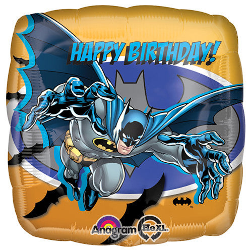 18″ BATMAN HAPPY BIRTHDAY