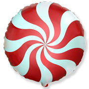 "18"" PEPPERMINT CANDY - RED"