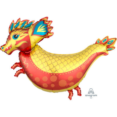 38″ FIERY DRAGON