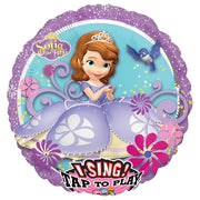 28″ SOFIA THE FIRST SING-A-TUNE