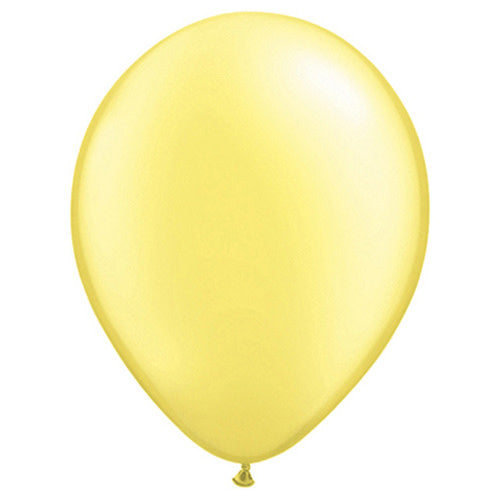5″ QUALATEX PEARL LEMON CHIFFON