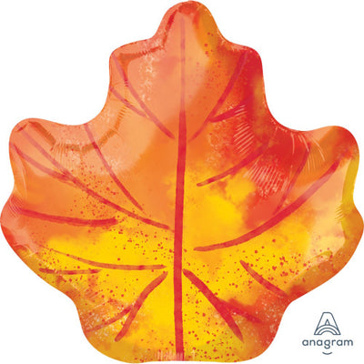 21″ FALL MAPLE LEAF