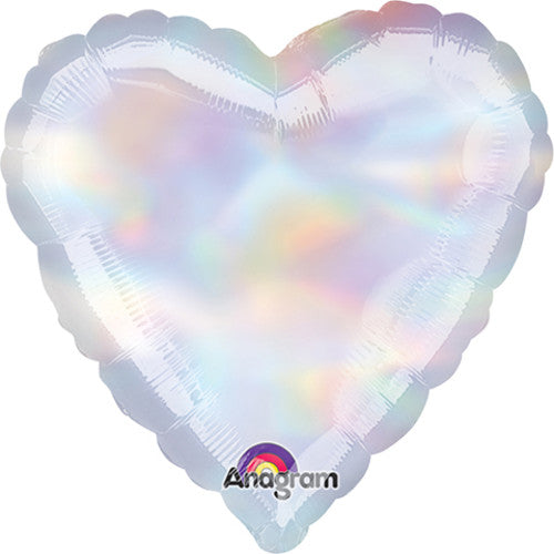 18″ HEART - IRIDESCENT