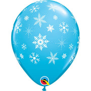"11"" SNOWFLAKES-A-ROUND - ROBIN'S EGG BLUE"