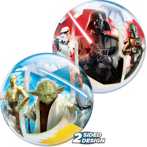 12″ BUBBLES - STAR WARS (AIR-FILL ONLY)  Pack of 10