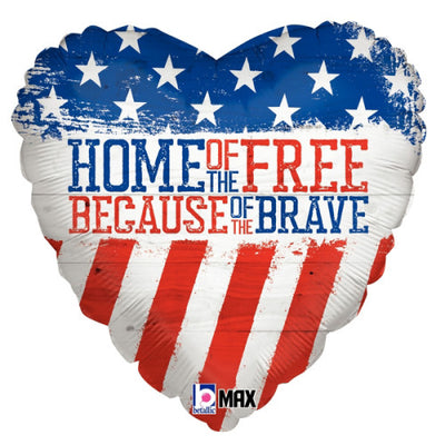 18″ PATRIOTIC HOME OF THE FREE