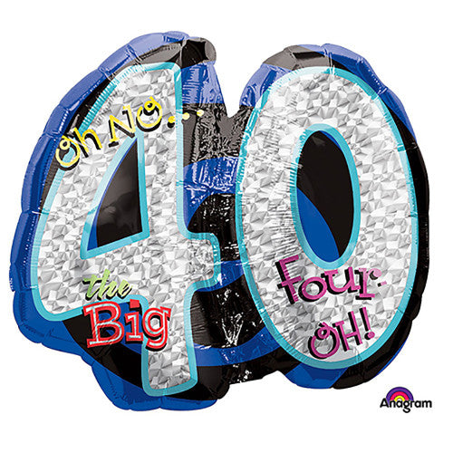 27″ OH NO! IT'S MY BIRTHDAY 40