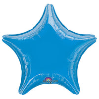 19″ STAR - METALLIC BLUE