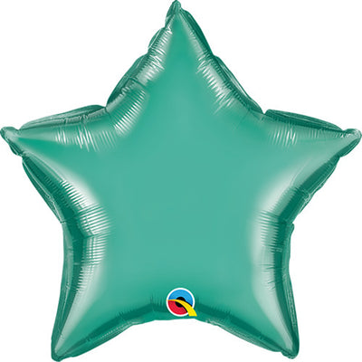 20″ STAR - CHROME GREEN
