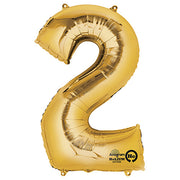 34″ NUMBER 2 - ANAGRAM - GOLD