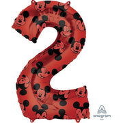33″ NUMBER 2 RED MICKEY MOUSE