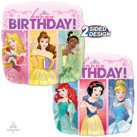 18″ MULTI-PRINCESS DREAM BIG HAPPY BIRTHDAY