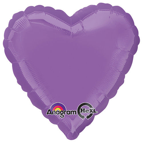 18″ HEART - SPRING LILAC