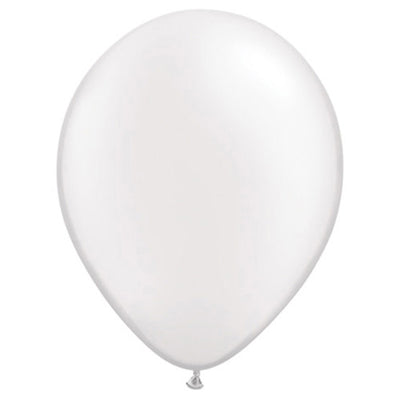 11″ QUALATEX PEARL WHITE
