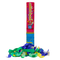 "12"" HANDHELD CONFETTI CANNON - PARTY POPPERS (PINK TUBE)"