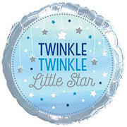 17″ ONE LITTLE STAR BOY TWINKLE