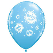 "11"" BABY BOY DOTS - PALE BLUE"