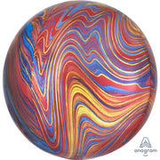 16″ ORBZ - COLORFUL MARBLEZ