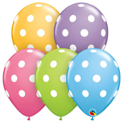 11″ BIG POLKA DOTS - SPECIAL ASSORTMENT
