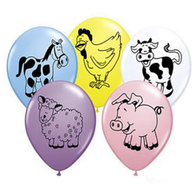 11″ FARM ANIMAL ASSORTMENT