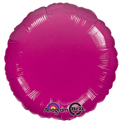 18″ CIRCLE - METALLIC FUCHSIA