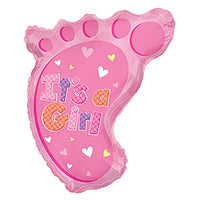 22″ IT'S A GIRL FOOT SHAPE