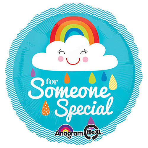 18″ SOMEONE SPECIAL RAINBOW CLOUD