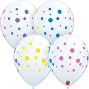 11″ COLORFUL DOTS