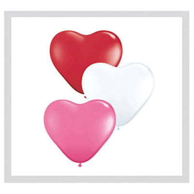 6″ HEARTS - LOVE ASSORTMENT (10 PK)