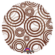 18″ CIRCLE - CIRCLES BROWN