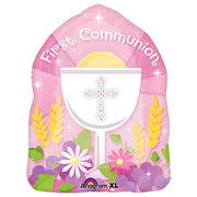 18″ BLESSED 1ST COMMUNION PINK