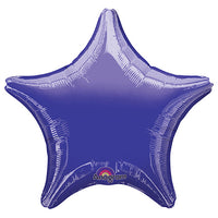 19″ STAR - METALLIC PURPLE