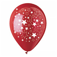 "12"" ALL-ROUND BIG STARS CRYSTAL RED"