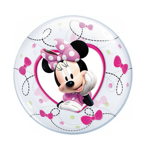 12″ BUBBLE - MINNIE (AIR-FILL ONLY)  Pack of 10