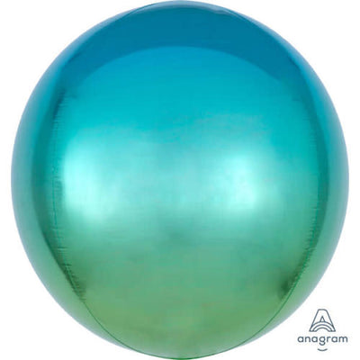 16″ OMBRE ORBZ - BLUE & GREEN