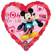 "18"" MICKEY & MINNIE HEART"