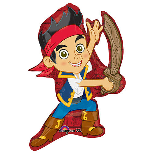 31″ JAKE AND THE NEVER LAND PIRATES POSE SUPERSHAPE