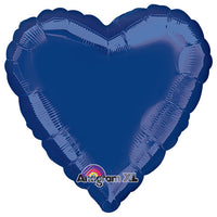 18″ HEART - NAVY BLUE
