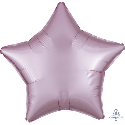 19″ STAR - SATIN LUXE PASTEL PINK