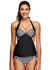 Genesis Striped Halter Tankini