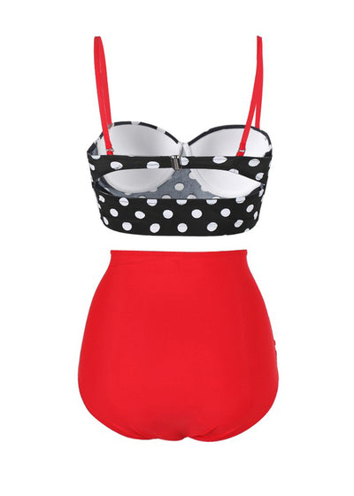 Riley Retro Polka Bikini Set