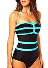 Juliana Stripe Swimsuit