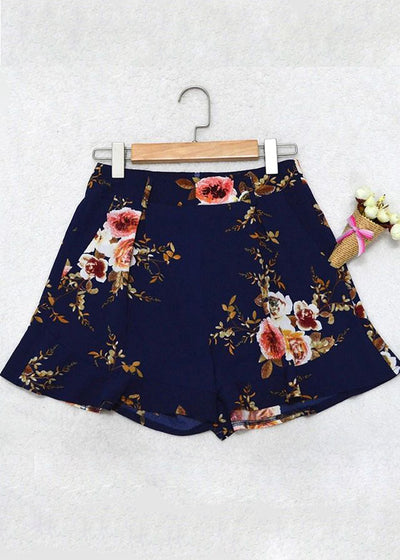 Ameera Floral Print Bow Belt Skirt